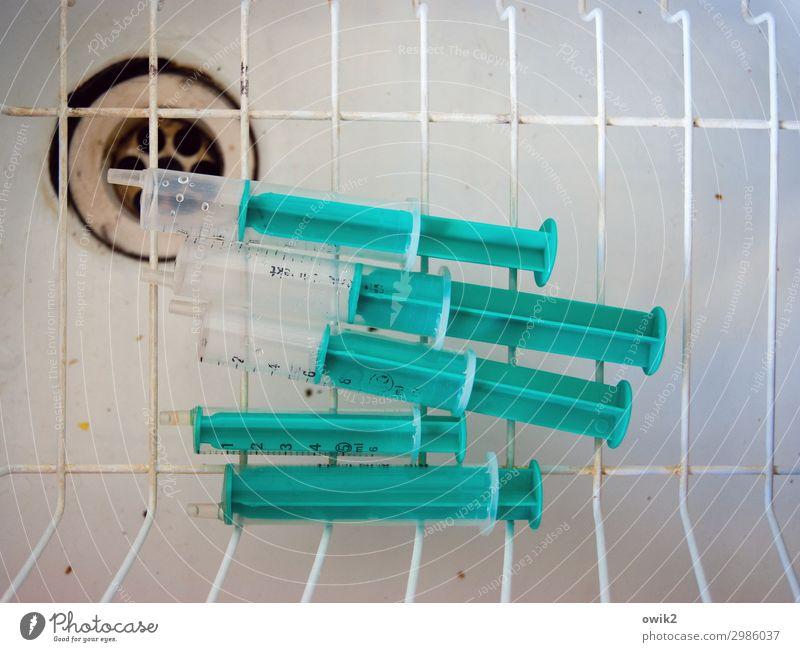 Metal Multiple Lie Simple Plastic Grating Dry Drainage Sink Pipette