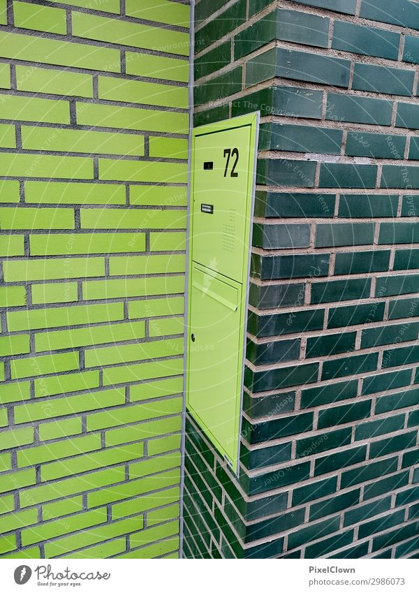 letterbox Elegant Style Living or residing Flat (apartment) House (Residential Structure) Construction site Town Manmade structures Building Architecture