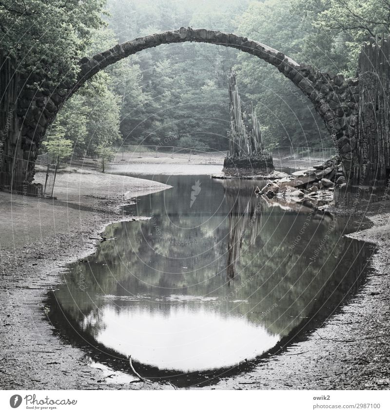 round thing Environment Nature Landscape Water Sky Spring Beautiful weather Tree Park Forest Lakeside Pond Manmade structures Tourist Attraction Landmark