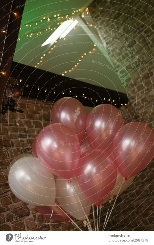 balloons Party Event Restaurant Feasts & Celebrations Wedding Birthday Baptism Decoration Balloon Dance Pink White Friendship Together Love Infatuation Loyalty
