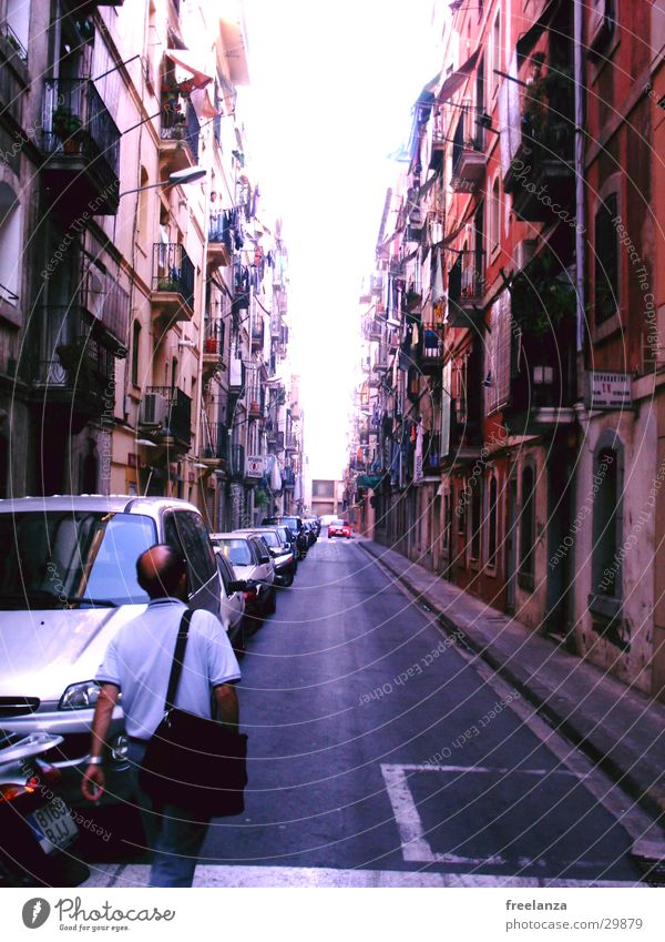 Vacation & Travel House (Residential Structure) Life Europe Spain Barcelona Alley