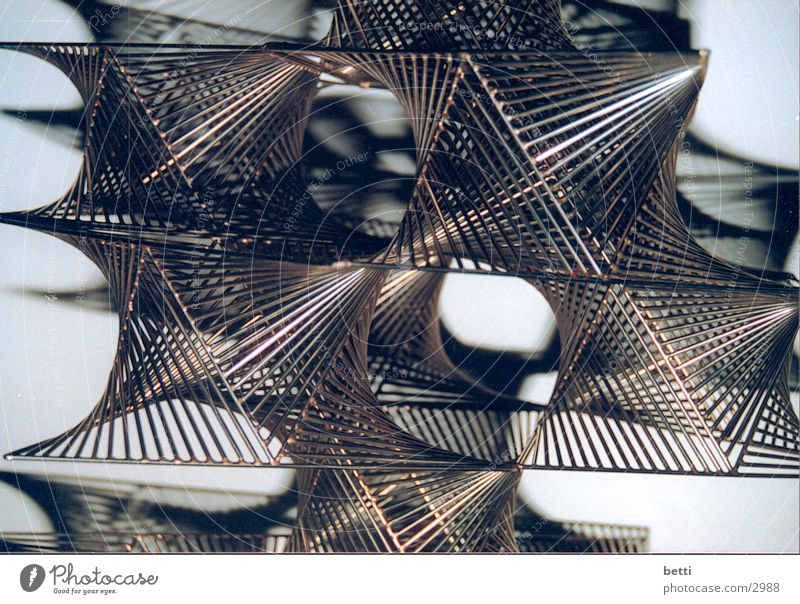 Metal Net Sculpture Photographic technology