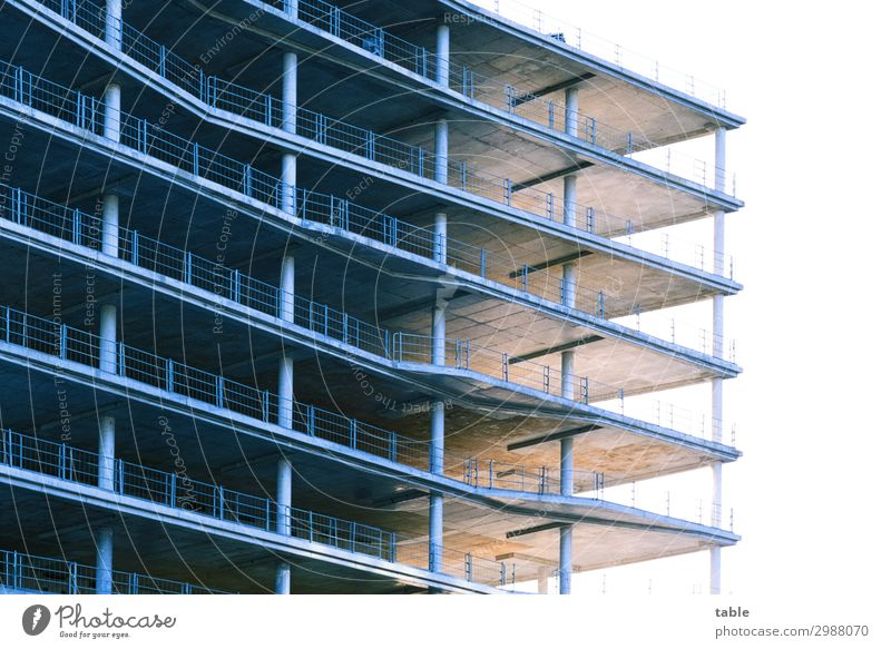Architecture Wall (building) Berlin Business Building Wall (barrier) Facade Work and employment High-rise Beginning Beautiful weather Industry Change Concrete