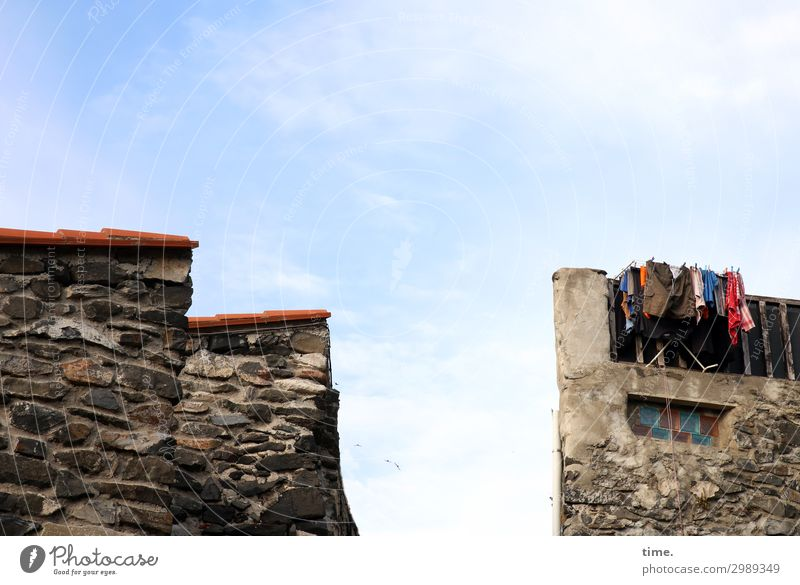 Town House (Residential Structure) Window Architecture Life Wall (building) Wall (barrier) Exceptional Stone Living or residing Creativity Perspective Tall Idea