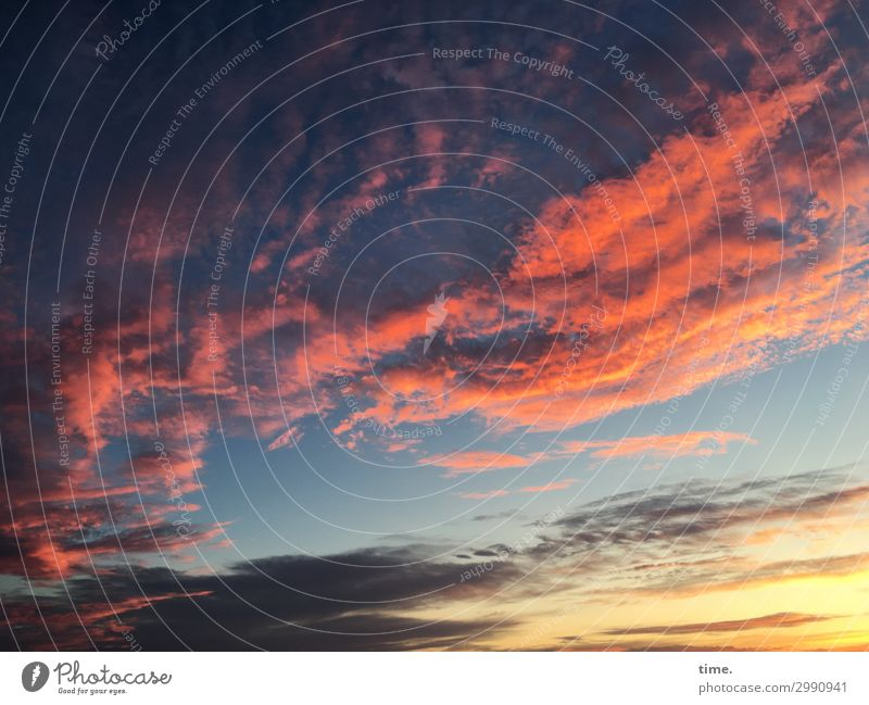 always airy and forever yours Air Sky Clouds Horizon Sunrise Sunset Beautiful weather Esthetic Exceptional Threat Dark Rebellious Multicoloured Determination