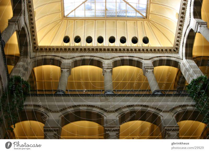 canopy Amsterdam Shopping malls Shopping arcade Roof Architecture historicizing Magna Plaza Column colonnato pseudo-romanic Interior courtyard