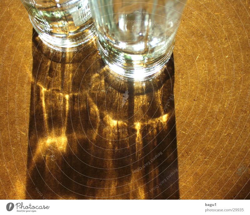 shadow play Light Alcoholic drinks Sun Shadow Reflection Glass Bottle Structures and shapes