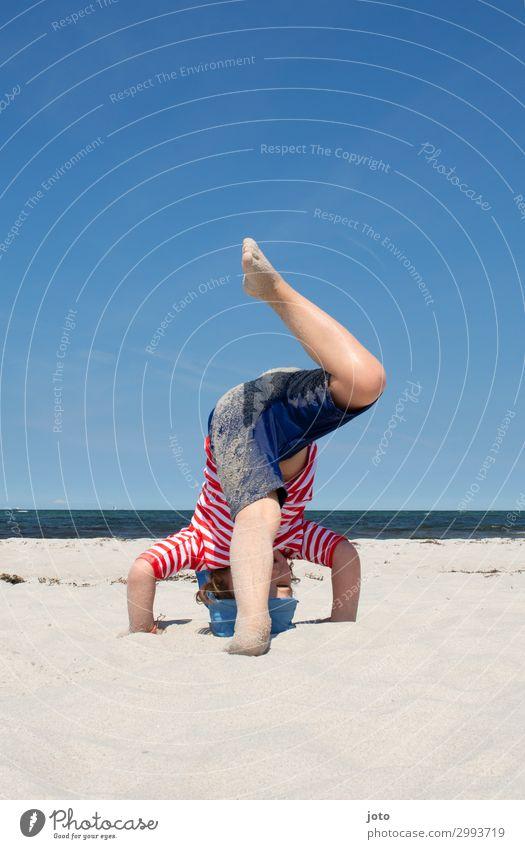 Child Vacation & Travel Summer Ocean Beach Legs Sports Movement Playing Freedom Trip Horizon Infancy Joie de vivre (Vitality) Summer vacation Baltic Sea