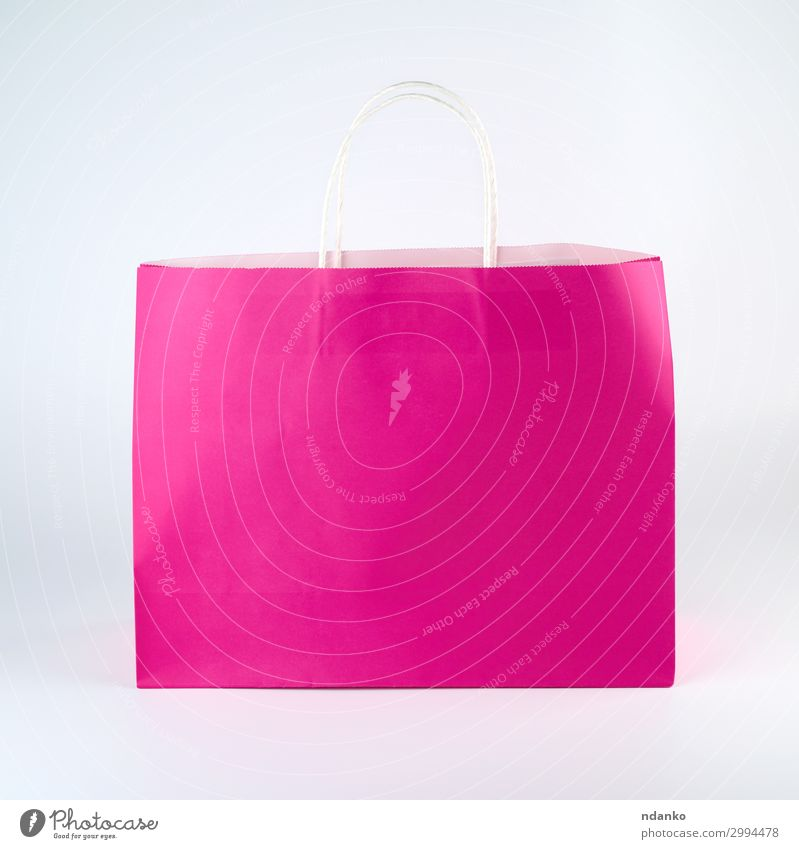 rectangular pink paper shopping bag Colour White Lifestyle Yellow Business Fashion Design Modern Gift Shopping Paper New Packaging Storage Conceptual design