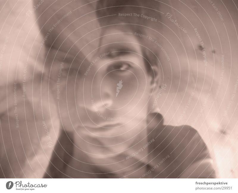 dreams1 Dream Long exposure Portrait photograph Man Blur Water Face