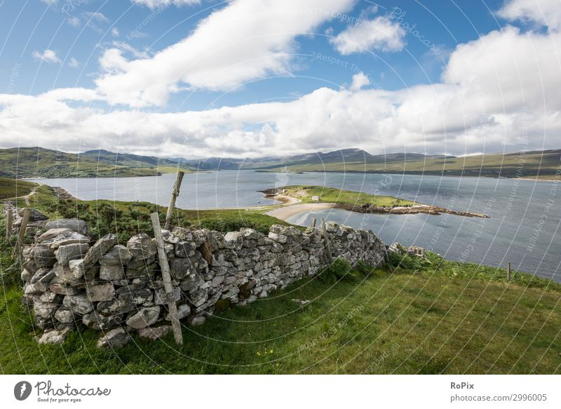 Ard Neackie Viewpoint Vacation & Travel Nature Landscape Relaxation Calm Beach Lifestyle Wall (building) Environment Coast Style Tourism Lake