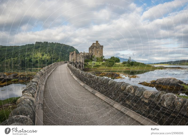 Eilean Donan Castle Vacation & Travel Tourism Trip Sightseeing Hiking Architecture Environment Nature Landscape Sky Clouds Horizon Coast Lakeside Bay Fjord