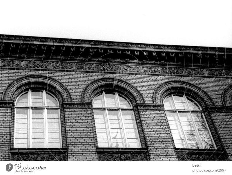 Window Wall (barrier) Vantage point Brick Historic Arch Rung