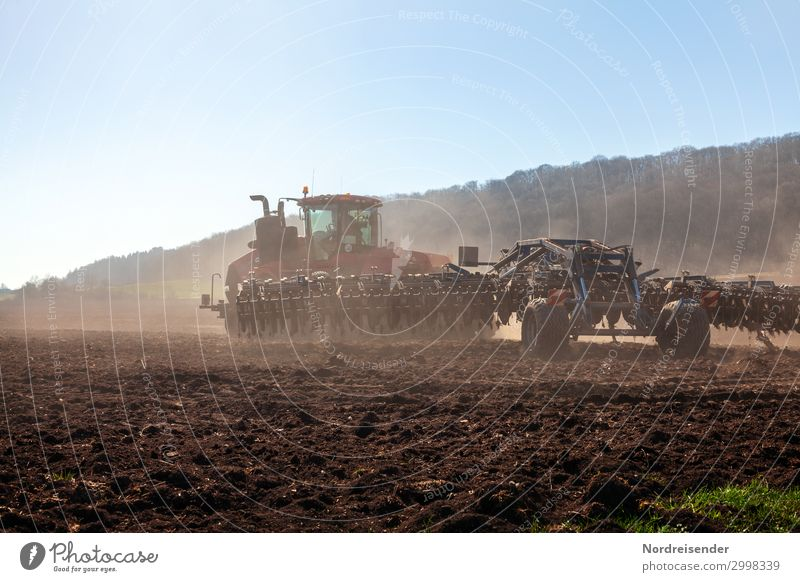 Modern agriculture Work and employment Profession Workplace Agriculture Forestry Logistics Machinery Advancement Future Landscape Cloudless sky Spring Summer