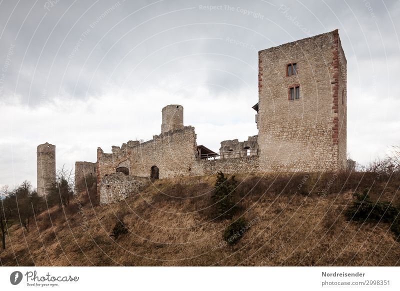 The Brandenburg Vacation & Travel Tourism Trip Sky Clouds Spring Autumn Grass Bushes Hill Outskirts Castle Ruin Manmade structures Architecture