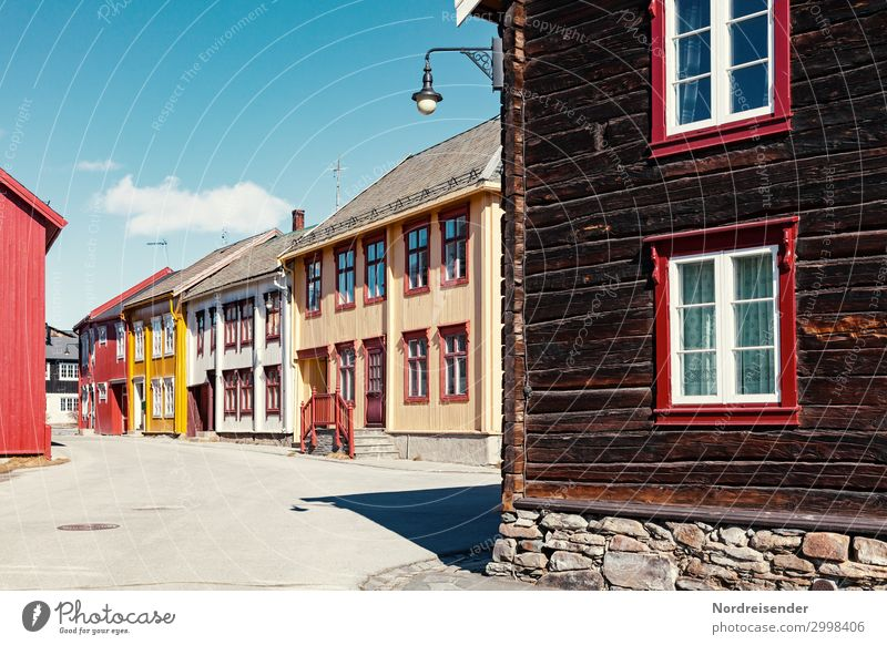 roe Vacation & Travel Tourism Sky Clouds Beautiful weather Village Small Town Old town Deserted House (Residential Structure) Building Architecture Facade