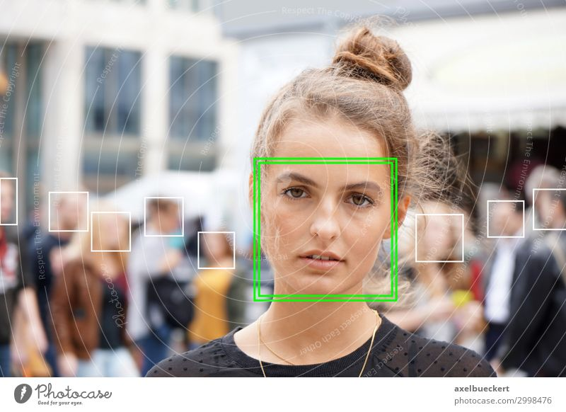 Automatic face recognition in crowds of people Lifestyle Software Technology Science & Research Advancement Future High-tech Information Technology Human being