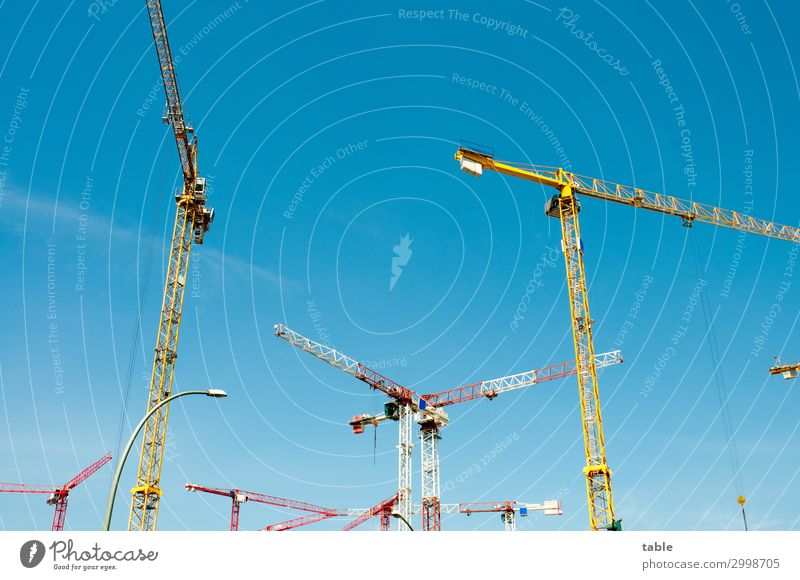 Sky House (Residential Structure) Environment Business Work and employment Living or residing Metal Beginning Beautiful weather Large Tall Construction site