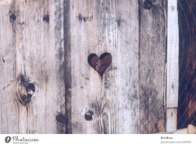 Nature Wood Heart Leisure and hobbies Village Toilet Bavaria Alpine pasture In transit Rustic
