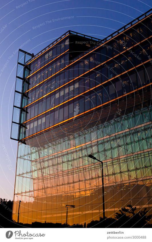 Sony Center (high) Berlin Office Middle City Facade Glass Glas facade Capital city House (Residential Structure) High-rise Potsdamer Platz Skyline