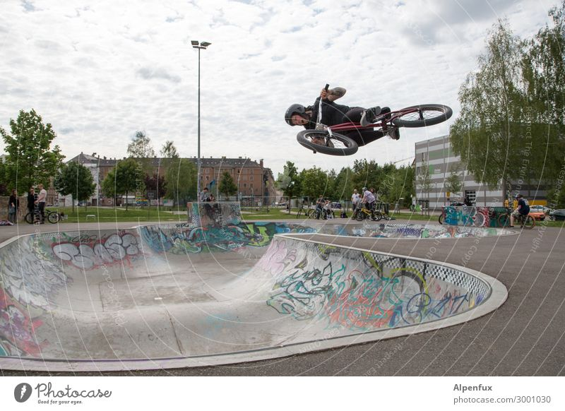 AST 10 | Reversal point Cycling Bicycle Halfpipe Flying Bravery Self-confident Cool (slang) Success Power Willpower Determination Fear of heights Fear of flying