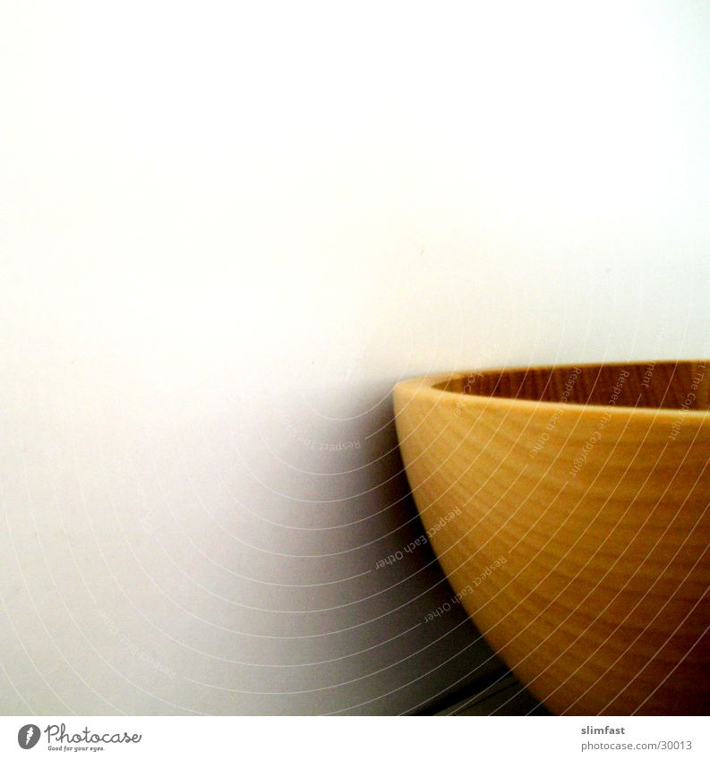 wooden bowl Wooden bowl Calm Kitchen Minimalistic Living or residing Detail Shadow ikea