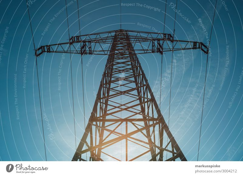 power supply Work and employment Profession Economy Industry Services Energy industry Electricity Electricity pylon Electricity generating station