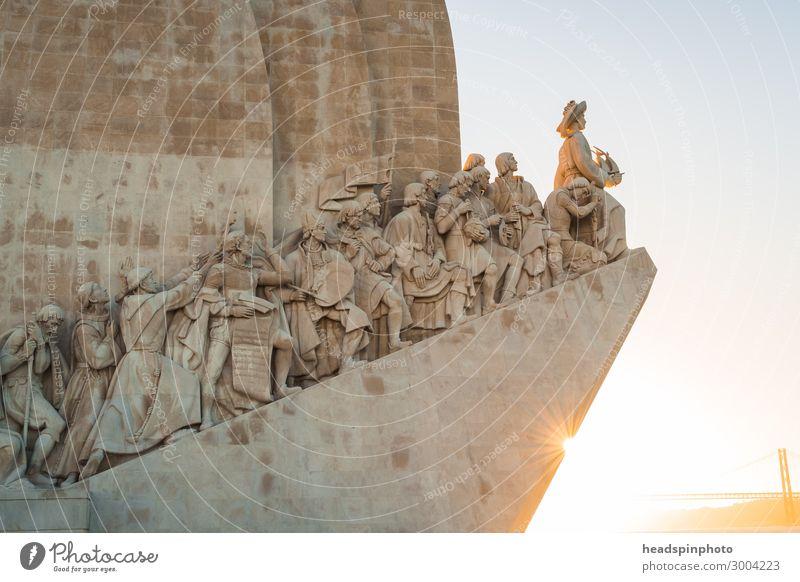 Padrão dos Descobrimentos (Monument of Discoveries), Lisbon Vacation & Travel Tourism Trip Sightseeing City trip Portugal Capital city Port City
