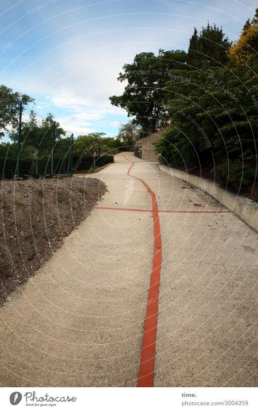 Walker on the road again. Environment Landscape Sky Beautiful weather Plant Tree Village Street Lanes & trails Median strip Footpath Stone Concrete Line Stripe