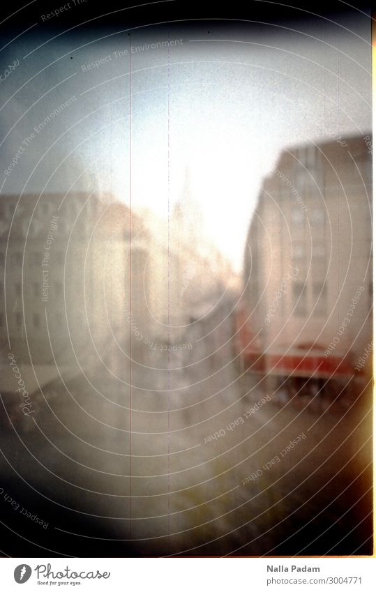 Church of Our Lady Town Downtown Old town Tourist Attraction Frauenkirche Art Tourism pinhole matchbox pinhole recording Colour photo Exterior shot Experimental
