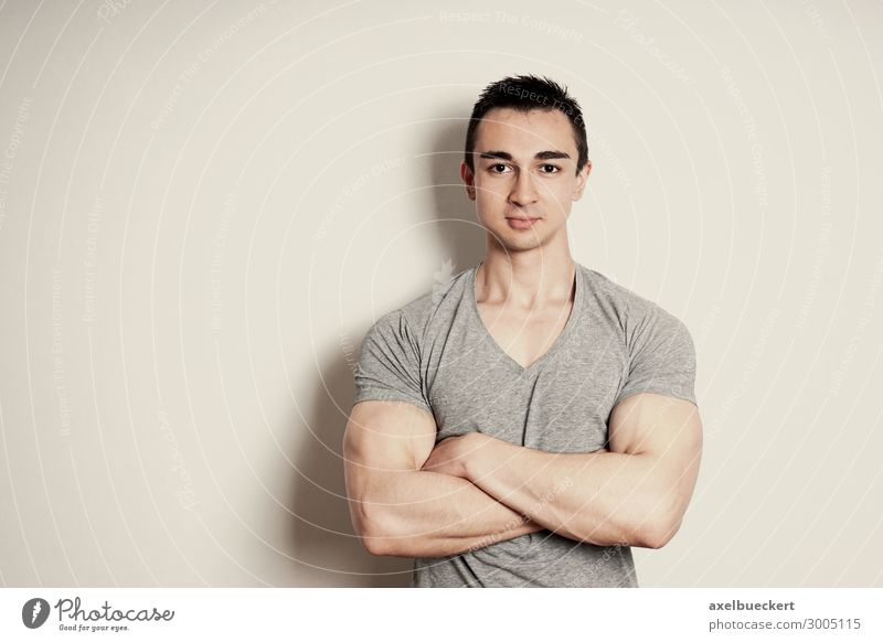 Human being Youth (Young adults) Man Beautiful Young man 18 - 30 years Lifestyle Adults Wall (building) Wall (barrier) Contentment Masculine Retro Smiling
