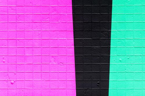 Colour Black Background picture Wall (building) Style Wall (barrier) Design Line Future Cool (slang) Concrete New Stripe Violet Hip & trendy Turquoise