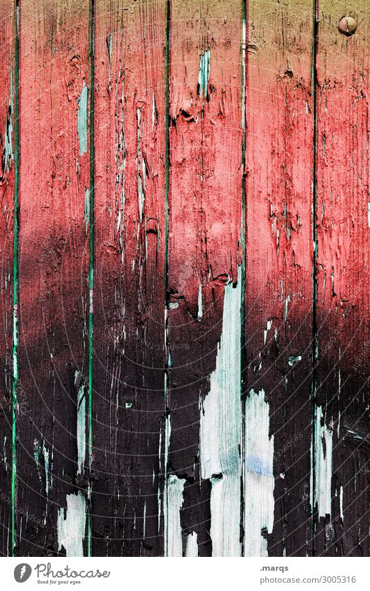wooden wall Wall (barrier) Wall (building) Wood Old Broken Red Black White Decline Change Background picture Colour photo Exterior shot Close-up