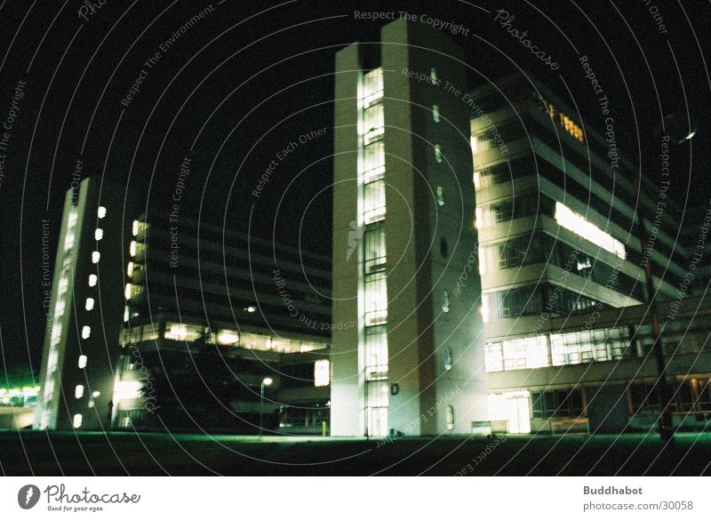 Gray Lighting Architecture Concrete Large Modern Tower High-tech Bielefeld Functionalism