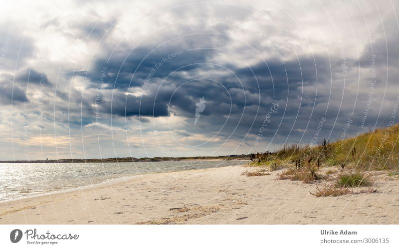 Clouds over the Baltic Sea Harmonious Well-being Contentment Relaxation Calm Meditation Cure Spa Vacation & Travel Tourism Far-off places Summer Summer vacation