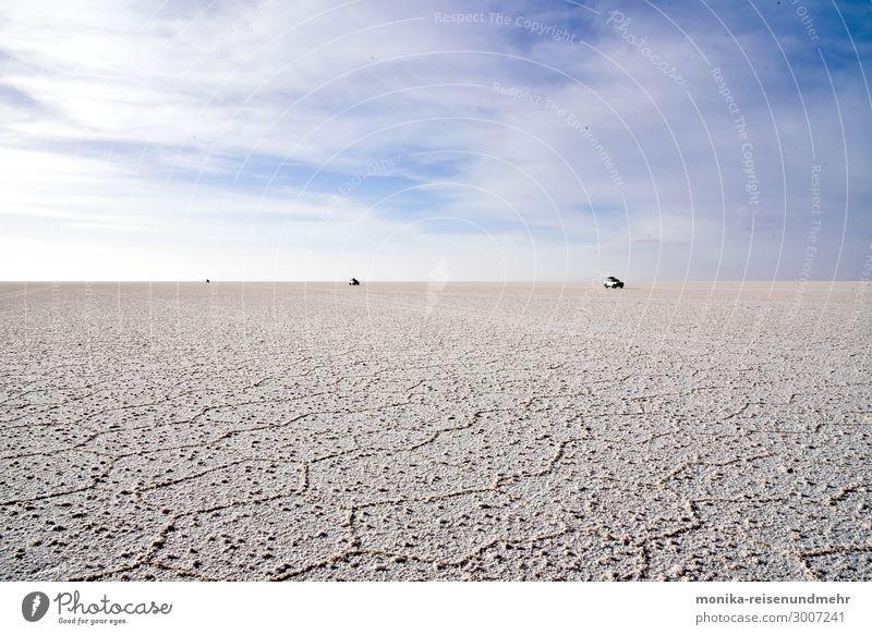 Salt desert Salar de Uyuni uyuni salar Salt flats Loneliness Desert High plain Salt  lake salt crust Adventure Bolivia South America panamericana