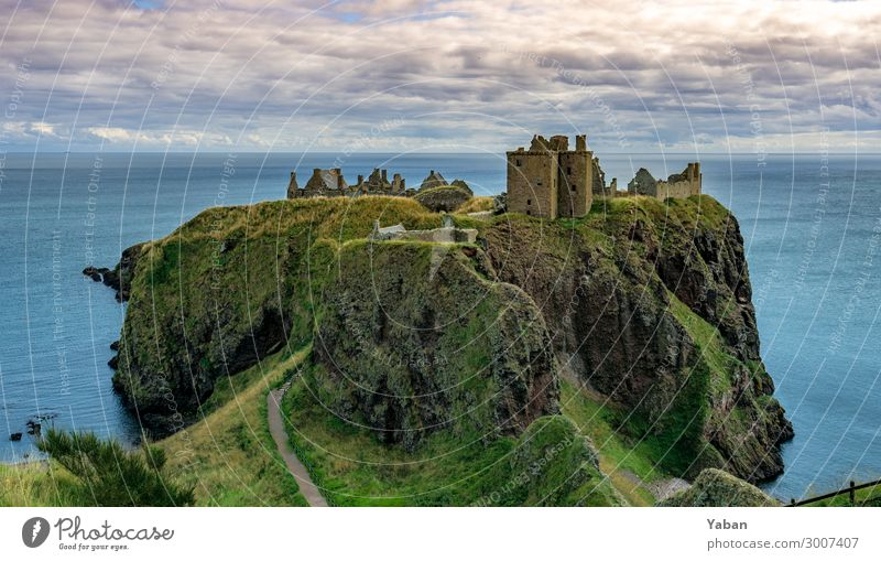 Vacation & Travel Ocean Coast Tourism Transience Tourist Attraction Hill Tradition Castle Monument Sightseeing Decline North Sea Ruin Scotland