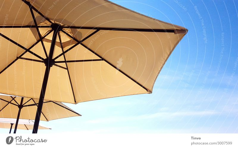 sunshades Sky Sunlight Summer Climate Climate change Beautiful weather Protection Vacation & Travel Sunshade Weather protection Warmth UV protection