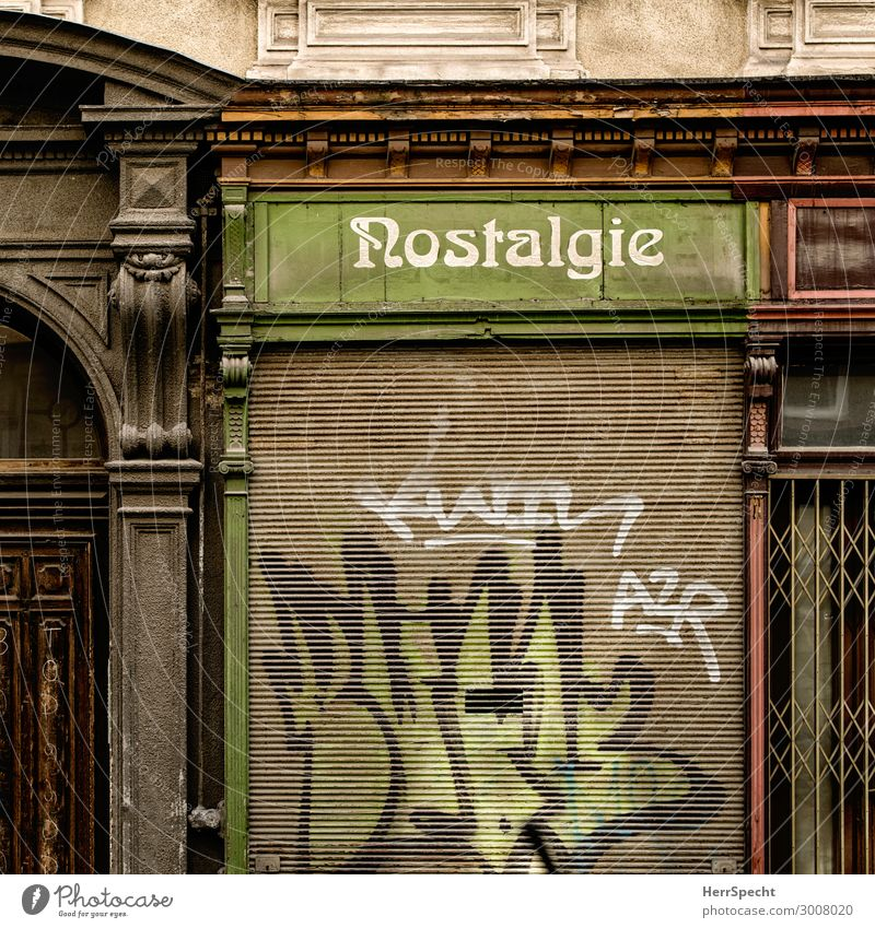 Good old days - over Vienna Capital city Downtown Old town House (Residential Structure) Building Architecture Window Door Stone Wood Characters Historic Trashy