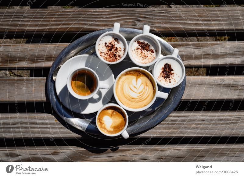 espresso Food Breakfast Lunch To have a coffee Organic produce Slow food Beverage Hot drink Hot Chocolate Coffee Latte macchiato Espresso Crockery Cup Drinking
