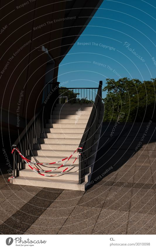 Architecture Lanes & trails Building Stairs Beautiful weather Places Closed String Manmade structures Cloudless sky Banister Barrier Barred