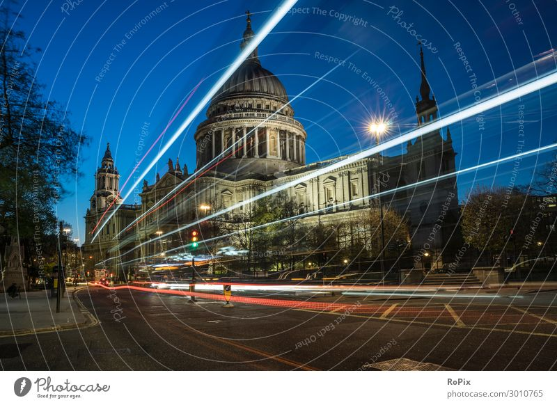 St Pauls Cathedral of London. Lifestyle Style Vacation & Travel Tourism Far-off places Sightseeing City trip Economy Art Work of art Architecture Environment