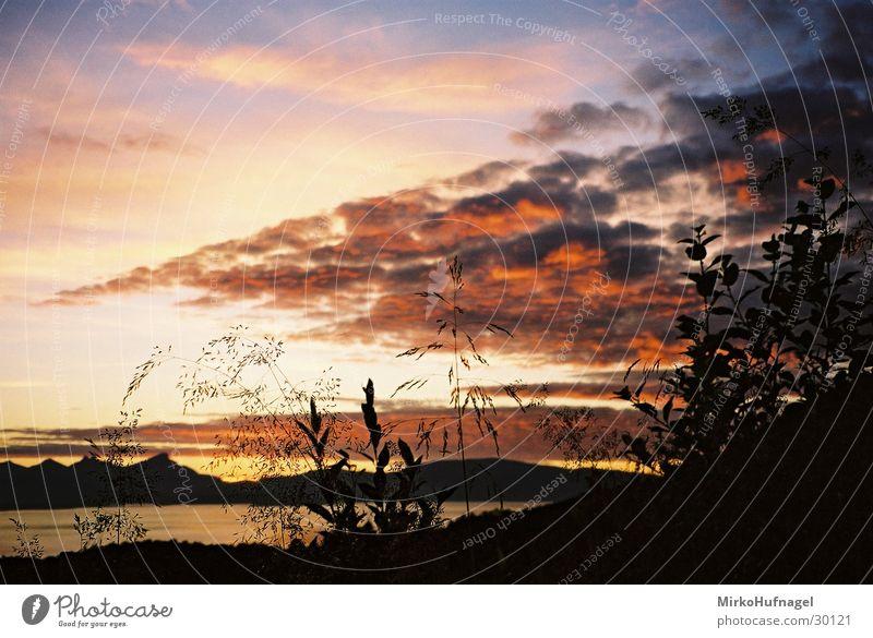 Sky Clouds Norway Scandinavia Midnight sun Arctic circle Tromsø