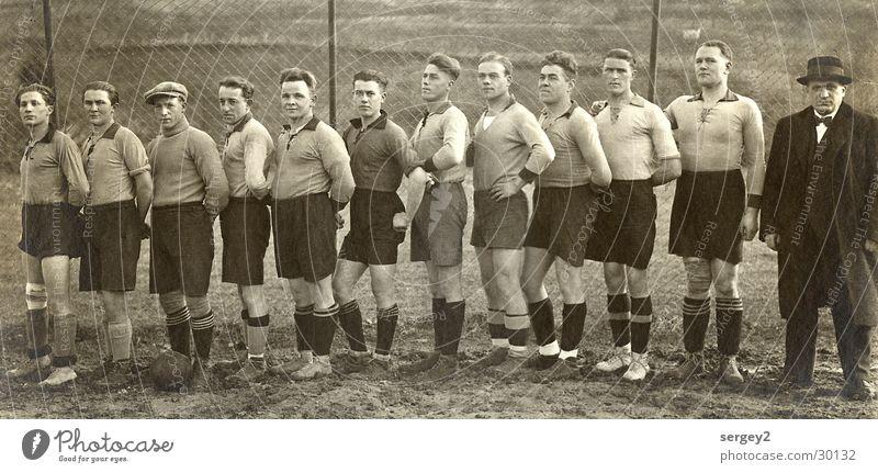 Man Sports Soccer Retro Ball Human being 1933