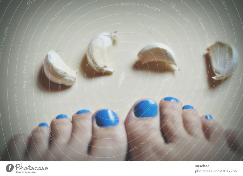 toes feet Toes Clove of garlic Wordplay Garlic Cohesive Symbols and metaphors homonym equivocation Unclear of the same name Difference Meaning Nail polish