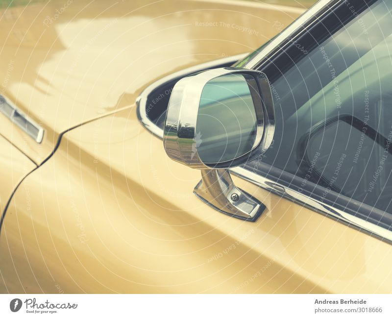 Yellow Style Design Car Retro Power Safety Risk Vintage Motoring Vintage car Beige