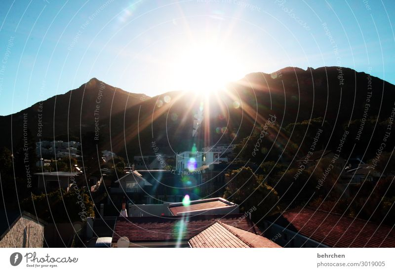 Valuable solar energy. Vacation & Travel Tourism Trip Adventure Far-off places Freedom Sky Mountain Exceptional Beautiful Bright Light South Africa Cape Town
