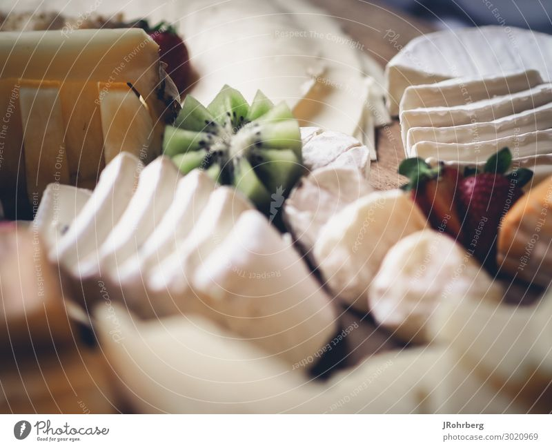 cheese platter Food Cheese Dairy Products Nutrition Buffet Brunch Banquet Organic produce Vegetarian diet Finger food Plate Lifestyle Luxury Healthy Wellness