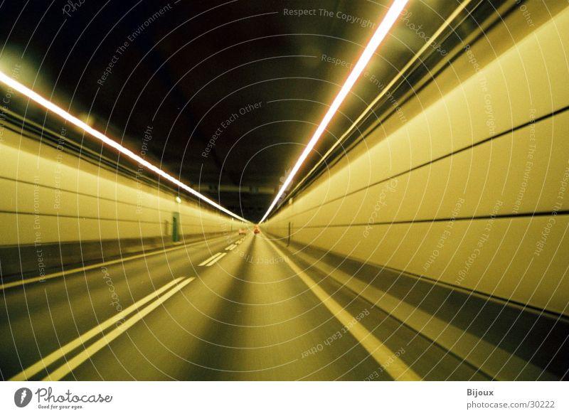 Dark Speed Action Highway Tunnel