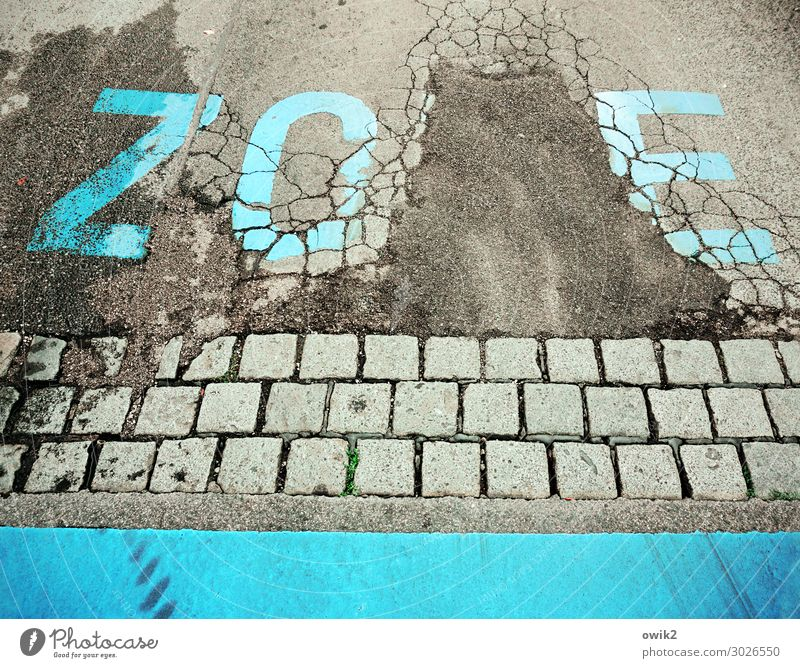 Town Street Gray Transport Characters Past Asphalt Decline Turquoise Under Traffic infrastructure Paving stone Destruction
